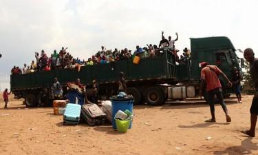 Supostos angolanos atirados para RDC