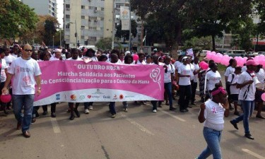 Angola regista mais de 1.300 novos casos de cancro