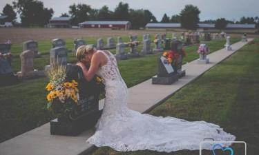 Noiva casa-se sem marido
