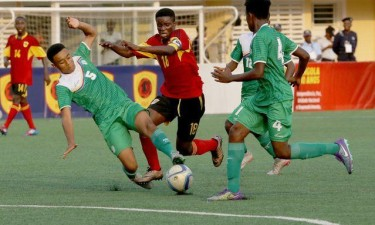 Angola não joga com a Namíbia