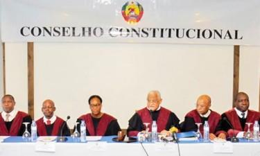 Conselho Constitucional apresenta resultados das autárquicas