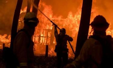 Incêndio já causou 56 mortos