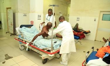 Médicos em greve