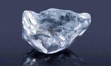Descoberto diamante com 128 quilates