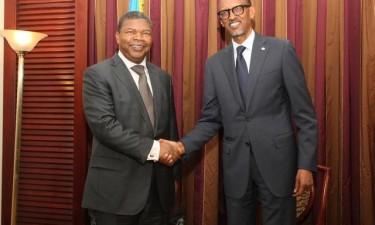 Presidente do Ruanda em Luanda para encontro com João Lourenço