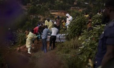 Ébola faz 44 mortos em uma semana
