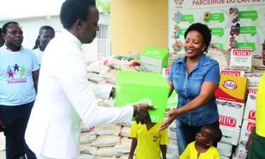 Lar 'Kuzola' recebe doação