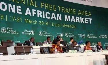 Zona de comércio livre africana ganha força