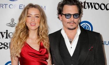 Johnny Depp acusa ex-mulher de maus-tratos