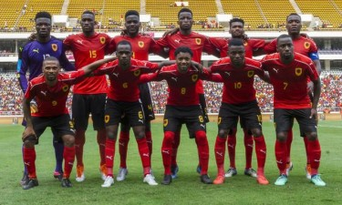 'Palancas Negras' defrontam a selecção da Eswatini