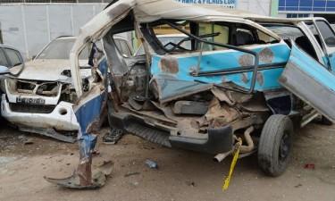 Acidente faz quatro mortos e 12 feridos