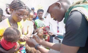 Campanha contra pólio abrange 160 mil crianças