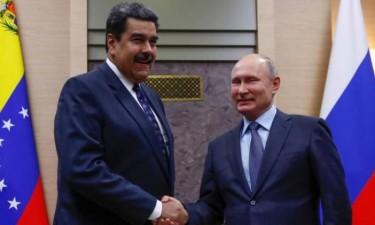 Maduro reúne-se com Putin