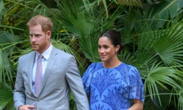 Meghan, Harry e Archie visitam Angola