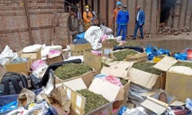 Incinerados 543 quilos de drogas