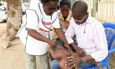 Campanha contra sarampo abrange 65 mil crianças