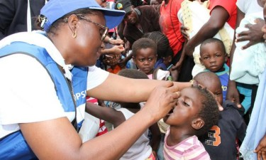 Campanha da pólio prorrogada em Luanda