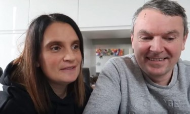 Casal britânico está à espera do 22.º filho