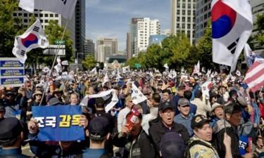 Sul-coreanos exigem demissão do ministro da Justiça