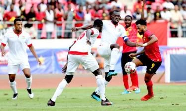 Angola perde com Gâmbia