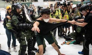 Confrontos  obrigam a reforço policial