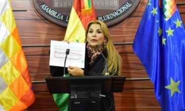 Opositora de Evo Morales declara-se presidente interina