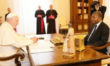 Papa Francisco e João Lourenço abordam cooperação