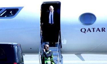 Presidente da FIFA em Luanda