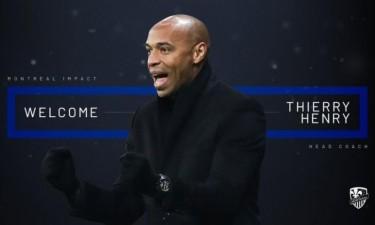 Thierry Henry é o novo treinador do Montreal Impact