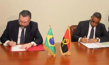 Angola e Brasil rubricam acordo em segurança