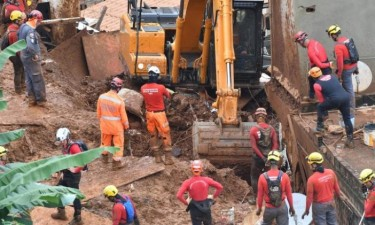 Chuvas provocam 45 mortos e 18 desaparecidos
