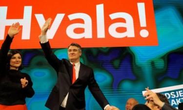 Milanovic é o novo presidente da Croácia