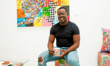 Guilherme Mampuya expõe 'Arco-íris'