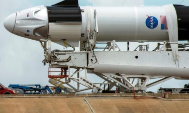 Mau tempo adia lançamento da SpaceX