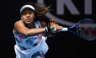 Tenista Naomi Osaka foi a desportista mais bem paga em 2019