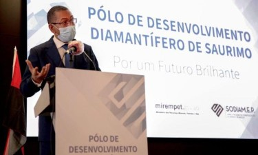 Angola quer criar Bolsa de Diamantes