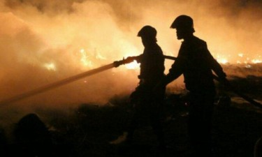 Fogo destrói cerca de 20 hectares de polígono florestal
