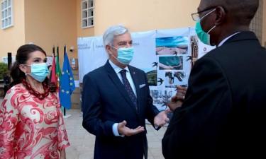 Angola recebe material de biossegurança e medicamentos