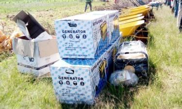 Ex-militares recebem instrumentos agrícolas