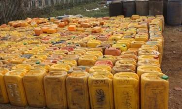 Polícia apreende combustível contrabandeado