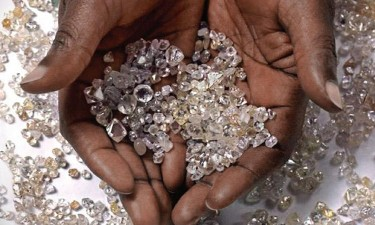 Apreendidas mais de 170 pedras de diamante