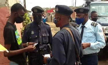 Polícia aplicou mais de 5 mil multas por falta de uso de máscara