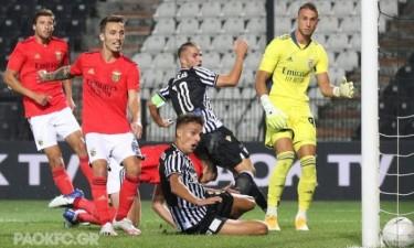 Benfica falha acesso à Liga dos Campeões
