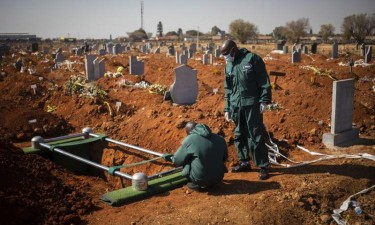Mortes em África sobem para 33.403