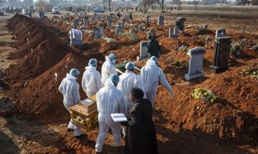 África com mais 360 mortes e mais de 11 mil infectados