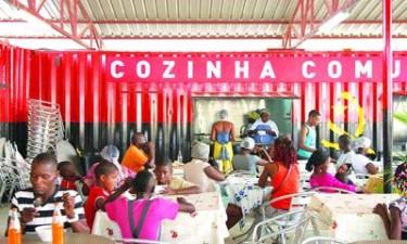 Cozinha comunitária atende mais de 300 crianças/dia