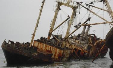 Governo determina recolha de navios sucata