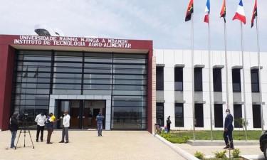 João Lourenço inaugura Instituto Agro-Alimentar