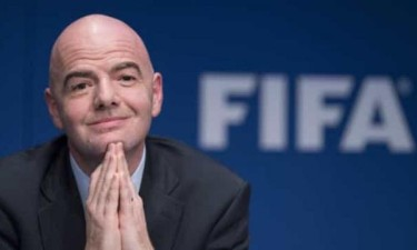 Presidente da FIFA infectado com covid -19