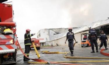 Incêndio destrói centro de detenção do SME